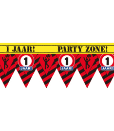 1 jaar partytape