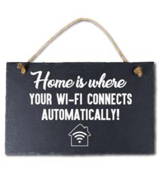Home is wifi Leisteen