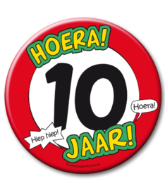 10 jaar Button XL