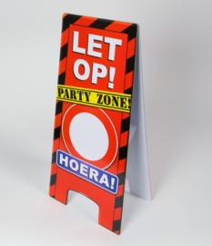 Hoera warning Sign