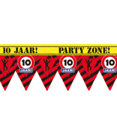 10 jaar partytape