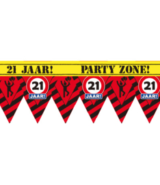 21 jaar partytape