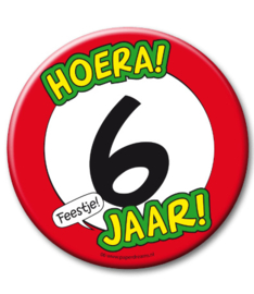 6 jaar Button XL