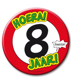 8 jaar Button XL