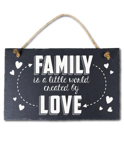 Family is a little world! Leisteen