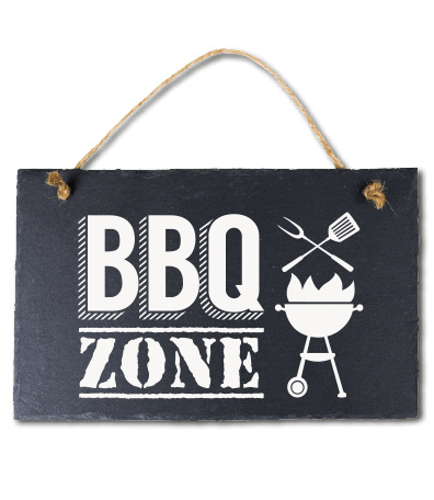 BBQ Zone! Leisteen