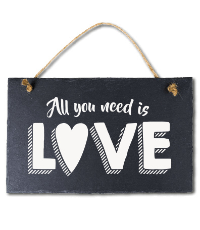 All you need is love! Leisteen