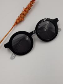 Zonnebril junior - Rond black