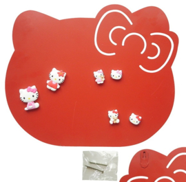 Hello Kitty magnetic board red