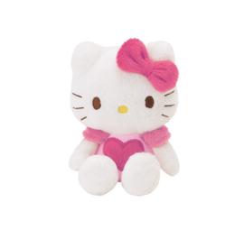 "Hello Kitty ""hart"" mascotte knuffeltje"