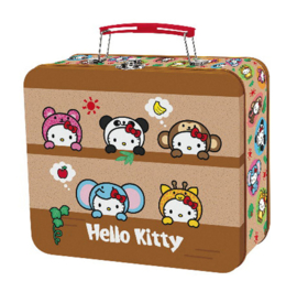 "Hello Kitty ""Safari"" metalen lunchbox"