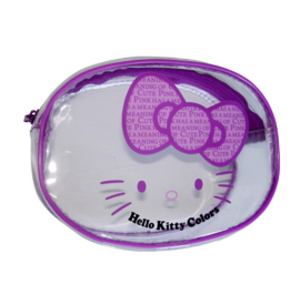 "Hello Kitty ""Colors"" make-up tasje paars"