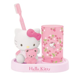 Toothbrush set with Hello Kitty