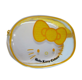 "Hello Kitty ""Colors"" make-up tasje geel"