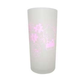 Hello Kitty jigsaw puzzle glas
