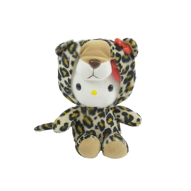 "Hello Kitty ""luipaard"" knuffel"