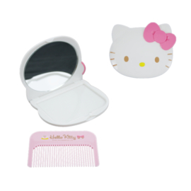 Mirror with comb Hello Kitty