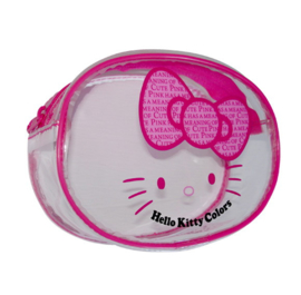 "Hello Kitty ""Colors"" make-up tasje roze"