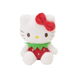 "Hello Kitty ""strawberry"" mascotte plush"