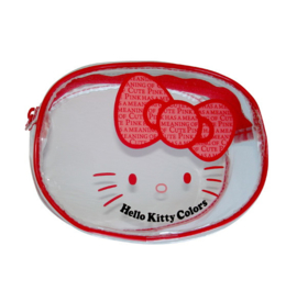 "Hello Kitty ""Colors"" make-up tasje rood"