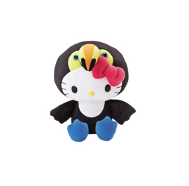 "Hello Kitty ""toucan"" knuffel"