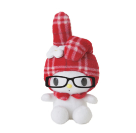 My Melody with glasses plush