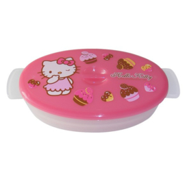 Microwave bowl of Hello Kitty