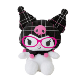 Kuromi with glasses plush