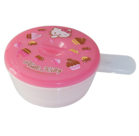 Egg microwave bowl of Hello Kitty
