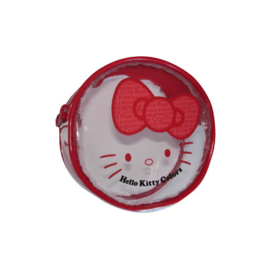 "Hello Kitty ""Colors"" muntenhouder rood"