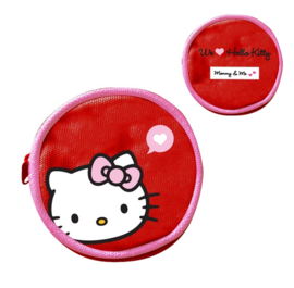 "Coin purse ""Mommy & me"" red"