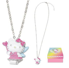Hello Kitty fairy halsketting met doosje