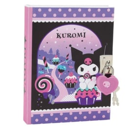 Diary with locker of Kuromi