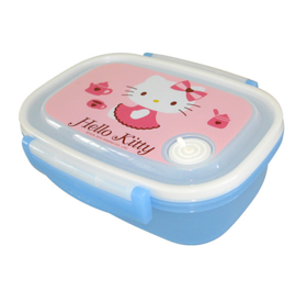 Lunchbox Hello Kitty blauw