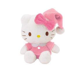 "Hello Kitty ""pyjama"" mascotte knuffeltje"