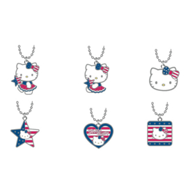 Hello Kitty Amerika  hanger set