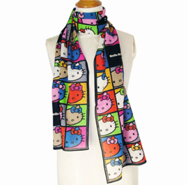 "Light Scarf ""Colorful dark"""