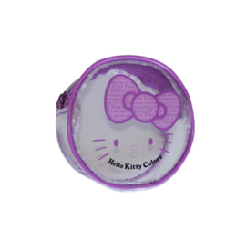 "Hello Kitty ""Colors"" muntenhouder paars"