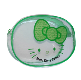 "Hello Kitty ""Colors"" make-up tasje groen"