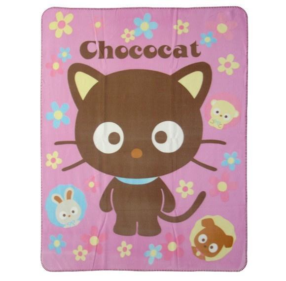 Hello Kitty Fleece Deken.Fleece Deken Van Chococat Cosy Interieur