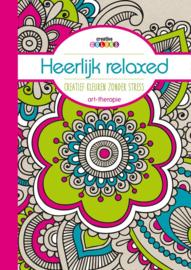 Heerlijk Relaxed Creatief Kleuren zonder Stress; Art-Therapie