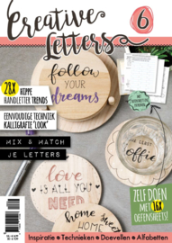 Creative Letters # 6  - 28x Hippe Handletter Trends