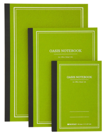 ProFolio® Oasis Notebook Avocado, A6 = 10,5 x 14,8cm
