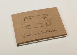 Handlettering Ansichtkaarten  A6