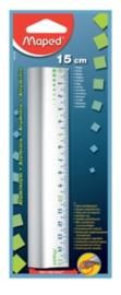 Aluminium 15 cm liniaal