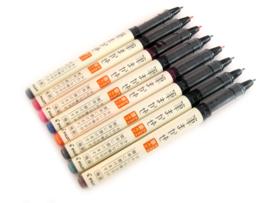 PilotFude-Makase Color Brush Pen - Fine - Black