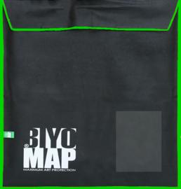 BiyoMap (Brilliant Groene Bies) 105x 105cm