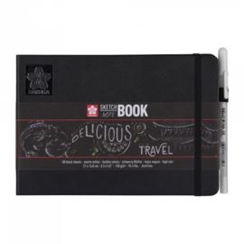 Sakura Sketch Noteboek 21 x 14,8 cm 140g Zwart Papier
