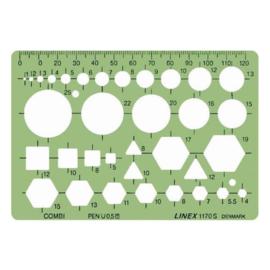 Linex 1170S Combinatie Sjabloon