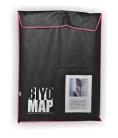 BiyoMap (Roze Bies) 50 x 60cm